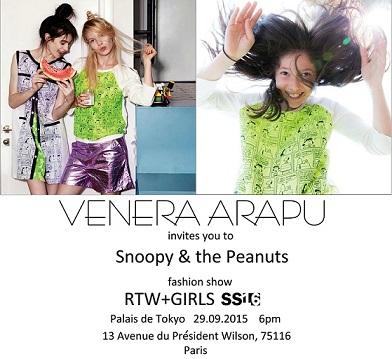Venera Arapu Invitatie SS16  PALAIS DE TOKYO