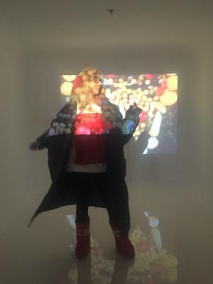 Noemi Meilman wearing Ioana Ciolacu and Concept A Trois