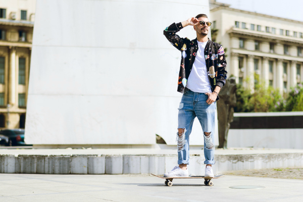 Friday is in LOVE With O: Ovidiu Muresanu wearing Lana Dumitru jacket