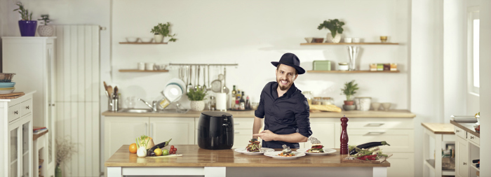 Philips Airfryer si Chef Foa fac echipa de gatit sanatos