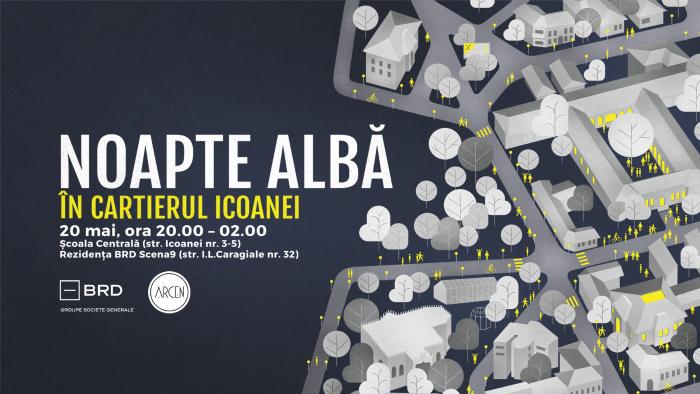 Noaptea Alba in Cartierul Icoanei