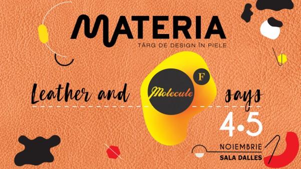 Un weekend doar in piele la MATERIA - Molecule F