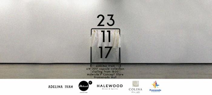 Lansare colectie capsula ADELINA IVAN   23 Noiembrie   18:00   Molecule F Concept Store