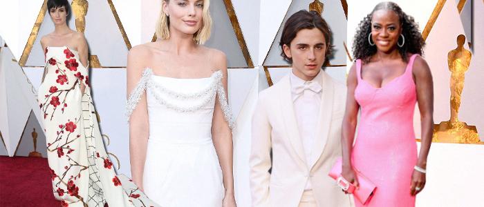 Premiile Oscar 2018: Cel mai bine imbracate vedete de pe covorul rosu