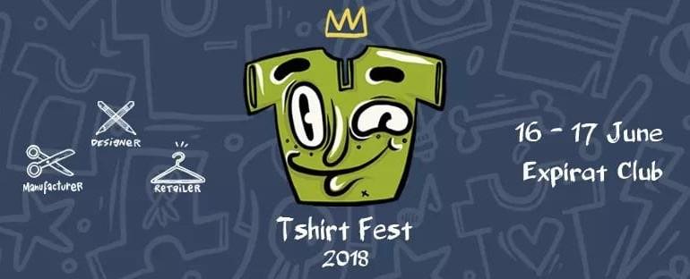 T-shirt Fest revine cu o noua editie in perioada 16- 17 iunie 2018