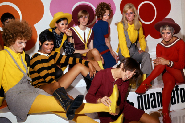 Mary Quant and models at the Quant Afoot footwear collection launch, 1967 © PA Prints 2008