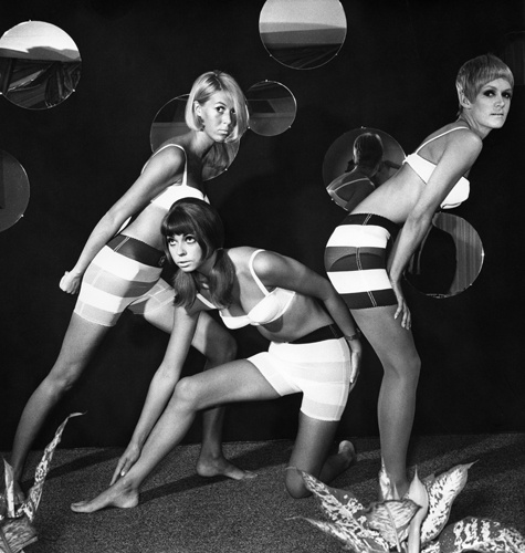 Quant, Mary *11.02.1934- Fashion Designer, UK - three models wearing underwear by Mary Quant