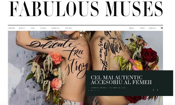Noua infatisare #FabulousMuses