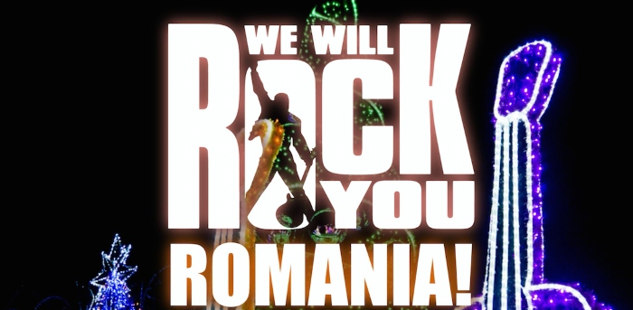 "Premiera ""We will rock you"" - Romania"
