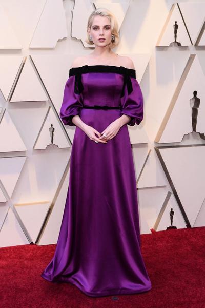 Premiile Oscar 2019: Lucy Boynton