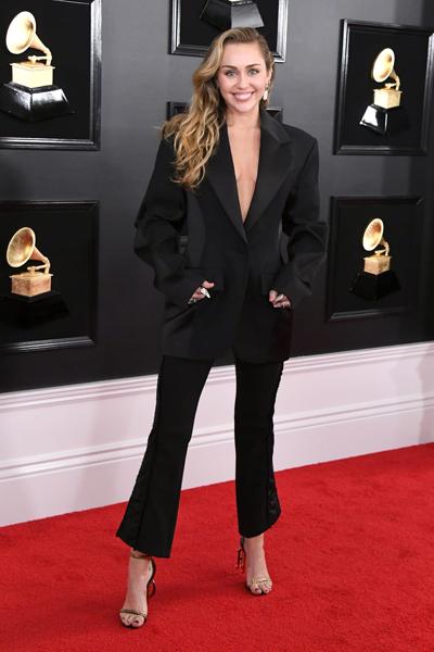 Premiile Grammy 2019 - Miley Cyrus