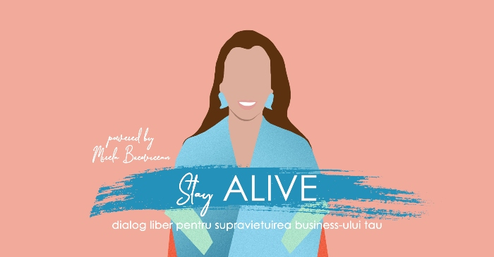 Stay ALIVE by Mirela Bucovicean