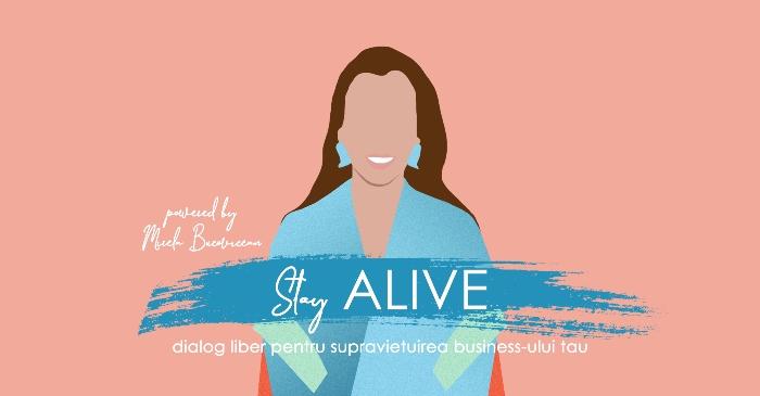 Stay ALIVE by Mirela Bucovicean