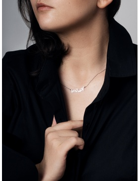 MAAI Silver Necklace