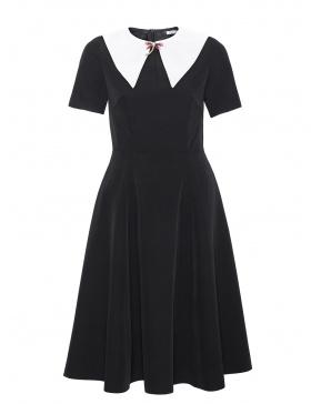 Black midi dress Audrey