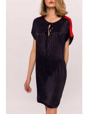 Natural fiber dress