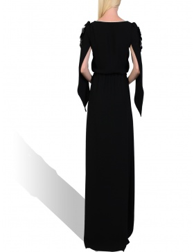 Pepper Black long dress