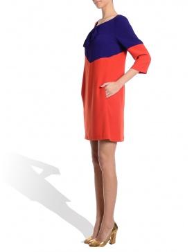 Purple Orange Dress