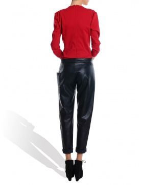 Long Eco Leather Pants