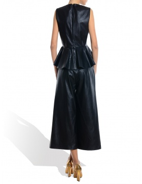 Eco Leather Pant-Skirt