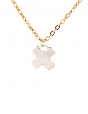 XOXO Gold/Silver Pendant