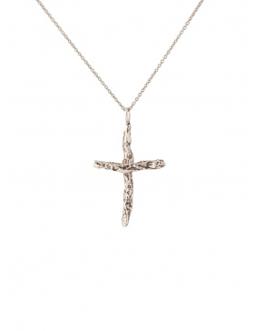 Small Karma Cross Gold/Silver Pendant