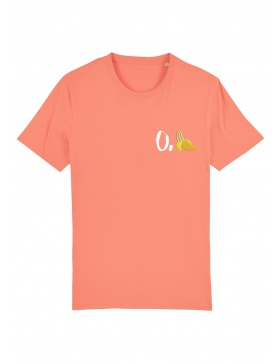 O. banana T-shirt - white writing