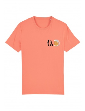 O. beer T-shirt - black writing