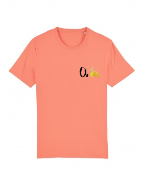 O. banana T-shirt - black writing