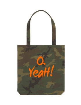 O. Yeah! Camouflage Tote Bag