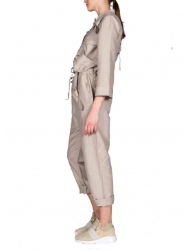 Natural fabric overall