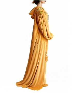 Velvet Hood Robe