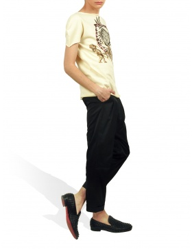 Princely T-Shirt The Gold Digger in Vanilla