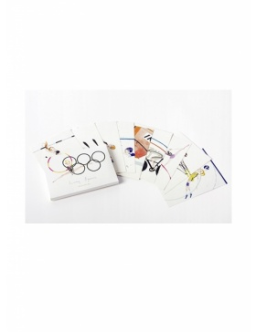 Olympic Games postcards set #5