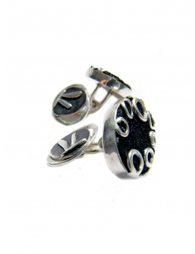 Starry Night cufflinks