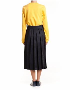 Yellow fit sweatshirt