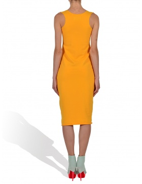 Midsummer Dream in Sunset Boulevard Yellow Tank Dress