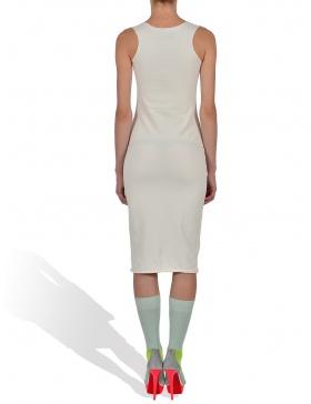 Teddy GaGa in Whip Cream Tank Dress