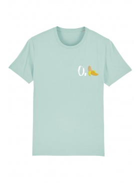 O. banana T-shirt - white writing