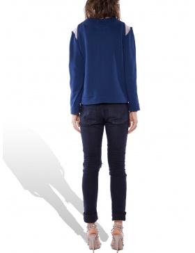 Lolita navy sweatshirt