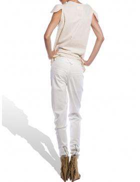 White Kid pants