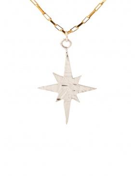 North Star Gold/Silver Pendant
