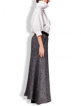 Fluffy wool skirt