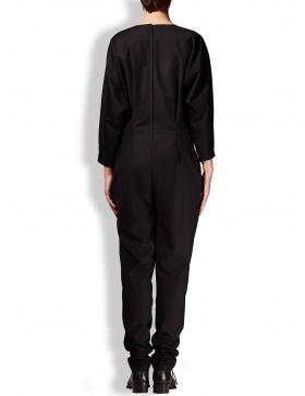Black cloth jumpsuit