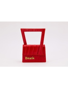 Baby Frame in Red Bag