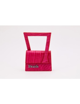 Baby Frame in Pink Bag