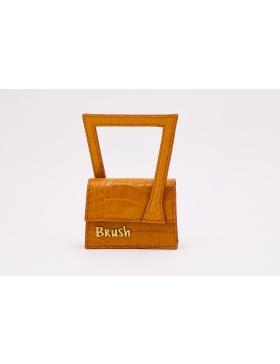 Baby Frame in light Brown Bag