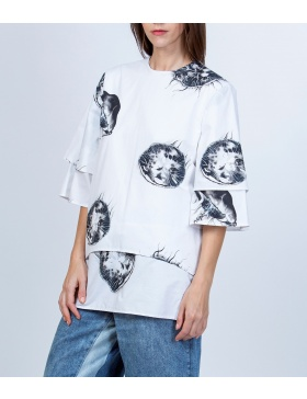 Loose Gipsy Jellyfish Blouse