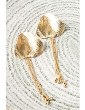 Earrings Tulip petal