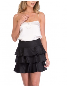 MINI FRILL SKIRT